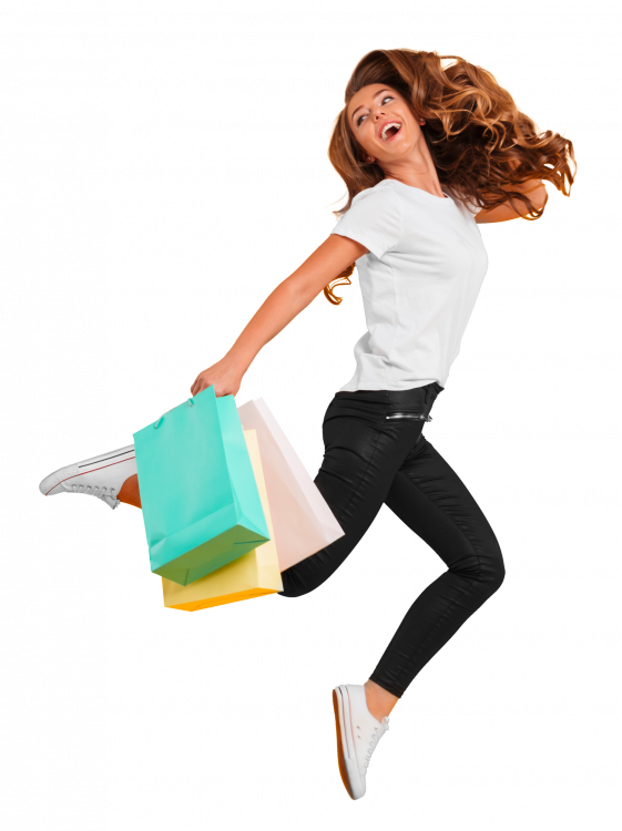 laughing-pretty-young-woman-jumping-holding-shopping-bags